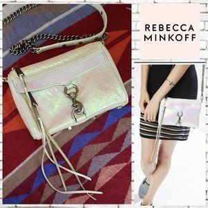 Rebecca Minkoff Iridescent Mini Mac Crossbody